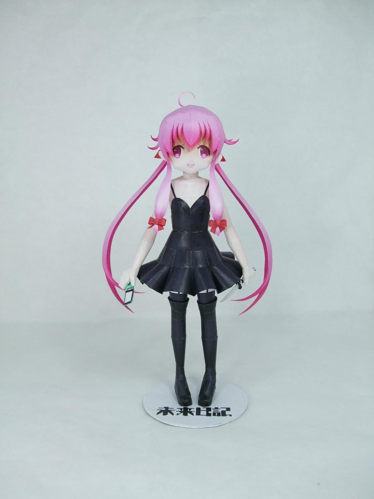 Anime Mirai Nikki 80 4 In 1 15 Cm