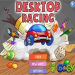 لعبة السباق على سطح المكتب