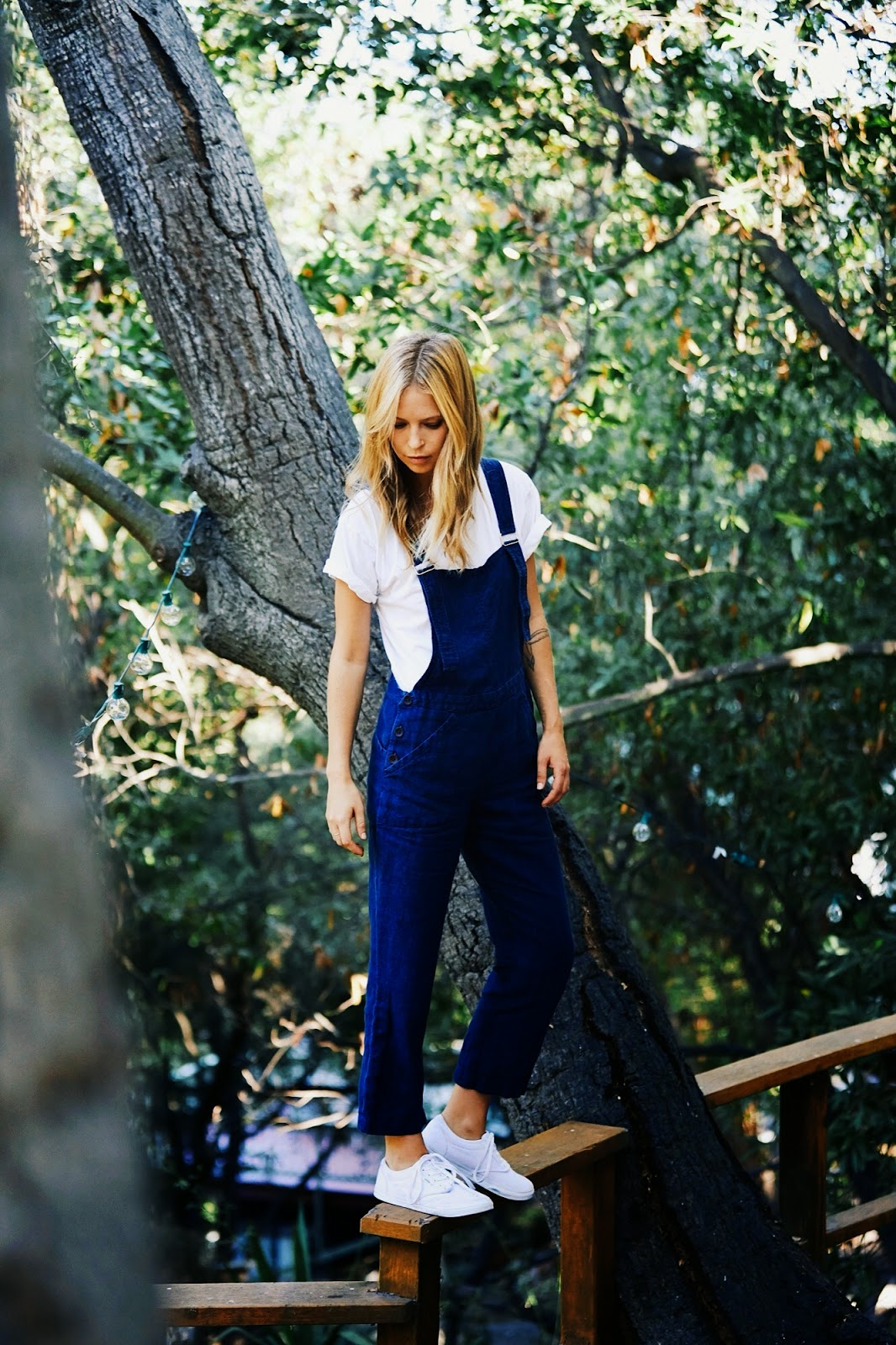 personal style blog lily ashwell overalls
