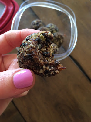 raw date pumpkin seed cookies