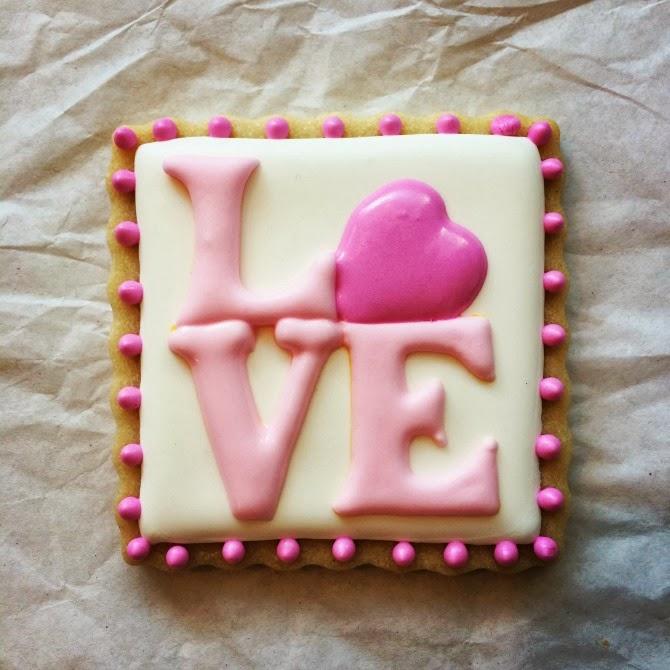 Sweet Elise: LOVE Cookie