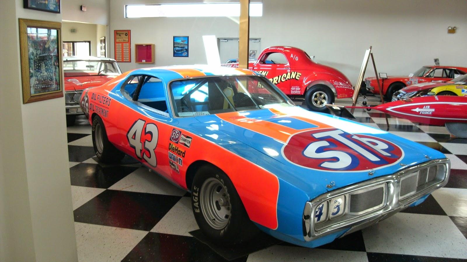 Richard Petty Motorsports >> CARHUNTER : TALLADEGA INTERNATIONAL MOTORSPORTS MUSEUM
