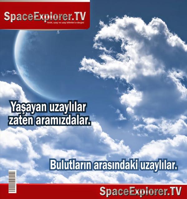 Cosmology Dergisi, Evrende yalnız mıyız?, Mikroskobik uzaylılar, ufo, Uzay kökenli canlılar, Uzayda hayat var mı?, uzaylılar,