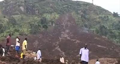 Deslizamientos de tierra en Uganda, 25 de Junio 2012