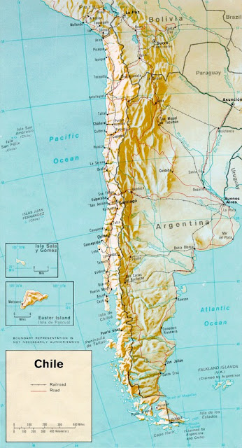 Chile Map 2015