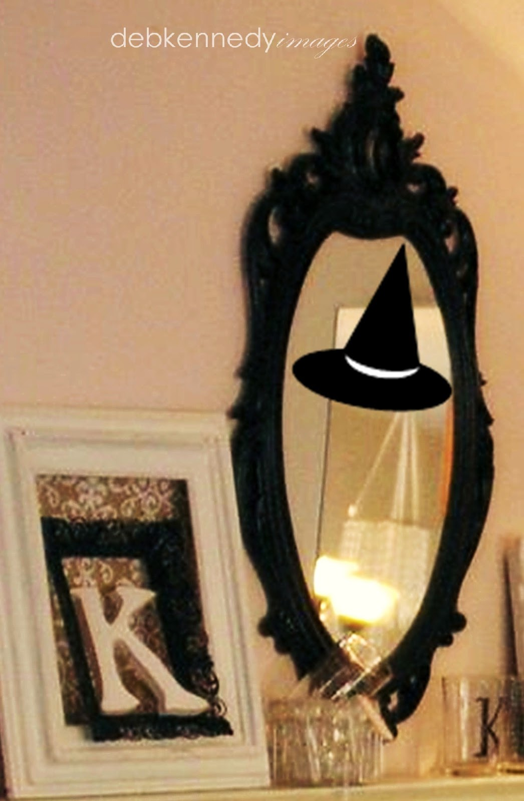 Bewitched Mirror TrickhomewardFOUNDdecor