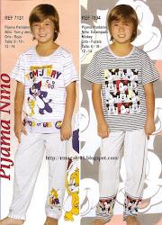 Pijama Niño   2012
