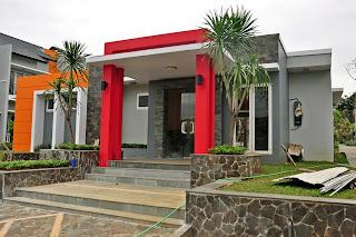 Gambar unit rumah mega residence