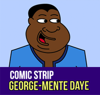 Comic Strip George-Mente Daye