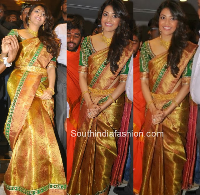 Gorgeous Kajal Agarwal in Bridal Saree