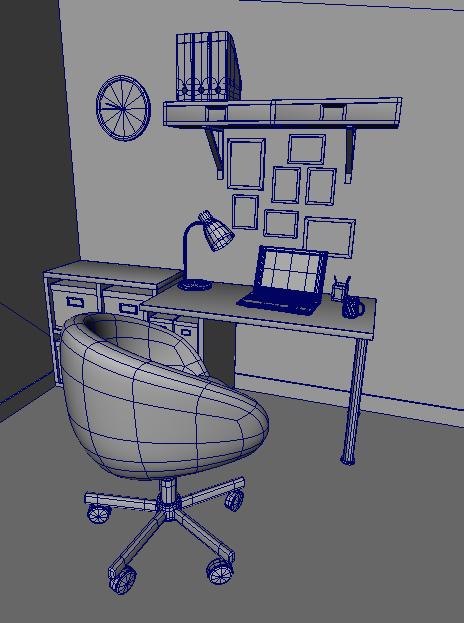 virginie kernel infographiste 3d bureau en 3d. Black Bedroom Furniture Sets. Home Design Ideas