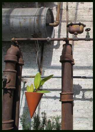 19th century greenhouse details