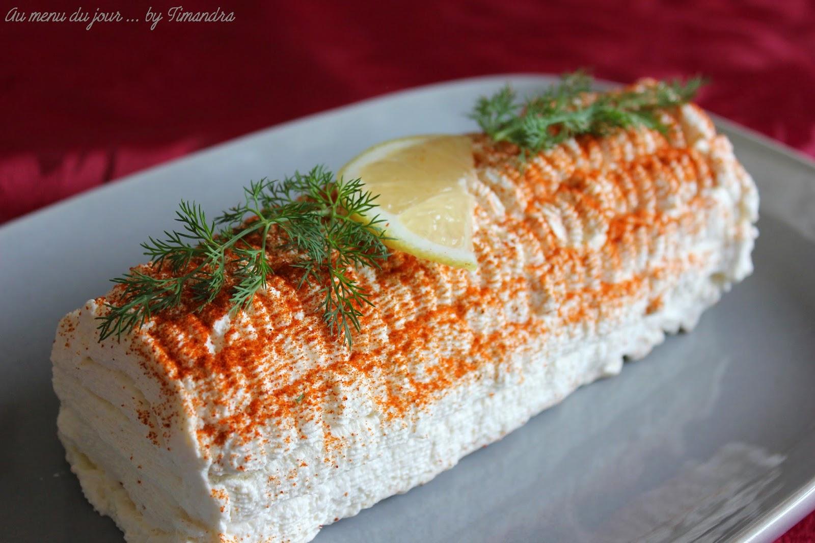 Recette buchette saumon fume
