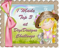 I made Top 3 over at Di's Digi Designs