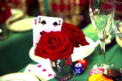 Detalle de las mesas, Baile de la Rosa 2013.