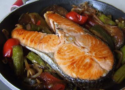dania z łososiem