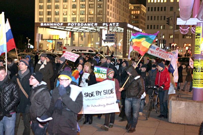 Anti-Gay Russian Laws at Embassy in Berlin