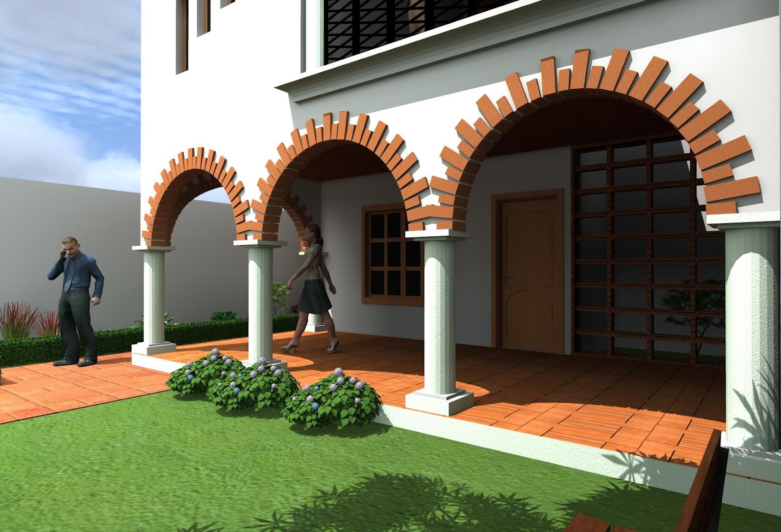 Arquirenders da for Proyecto casa habitacion minimalista