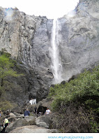 Went to Bridalveil Fall @ Yosemite