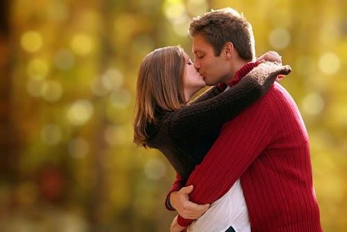 besos romanticos