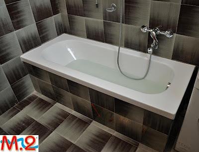 M 2 trasformazione vasca in doccia e sistema vasca nella - Profilo rivestimento bagno ...