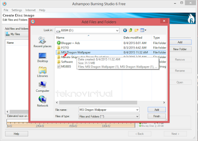 Cara Membuat File ISO Dari Data Folder 4