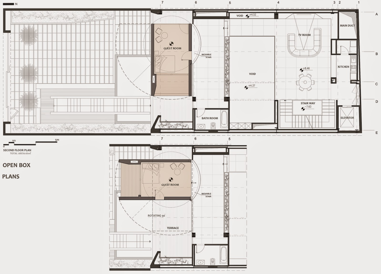10-Plans-Second-Floor-Plan-Section-Nextoffice-Sharifi-Ha-House-Revolving-Rooms-Architecture-www-designstack-co