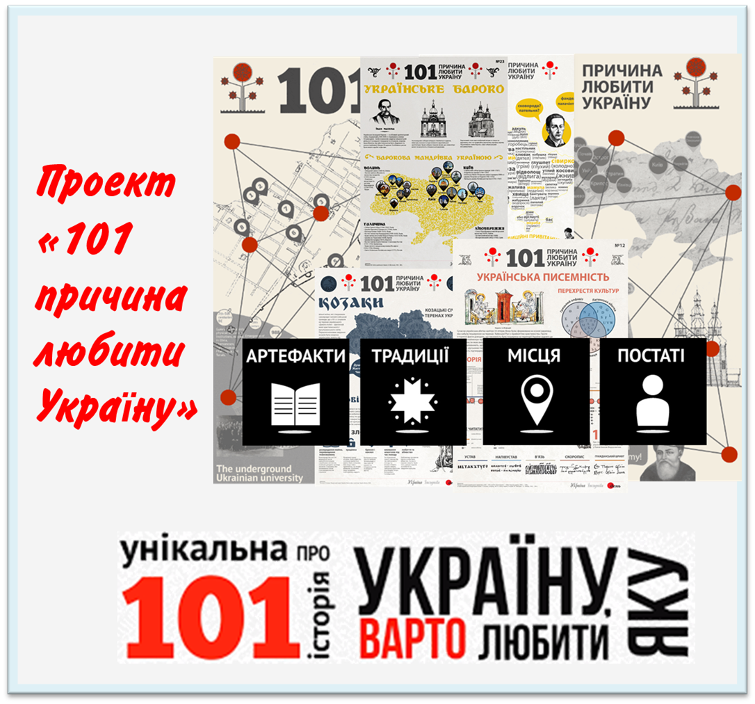 """Проект газети """"День"""" та «Україна Incognita»"""