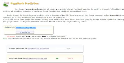 Cara Mengecek Prediksi Update Pagerank Google