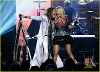 Carrie Underwood and Steven Tyler: ACM Awards Duet!