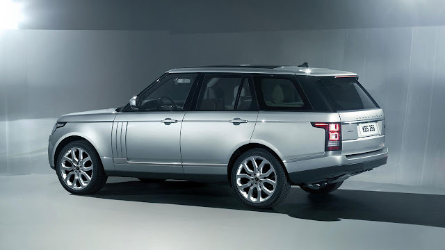 The All-New Range Rover back