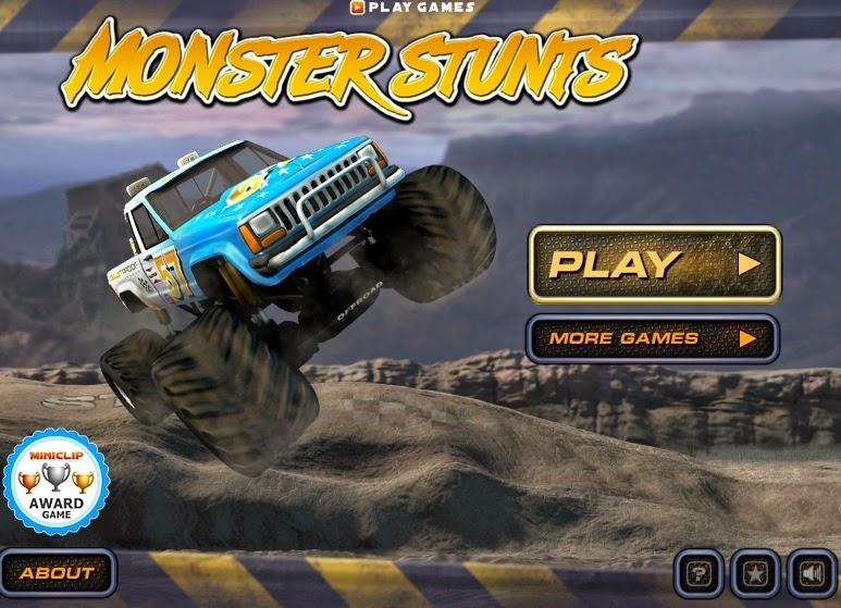 Juegos gratis de Carros – Monster Stunts