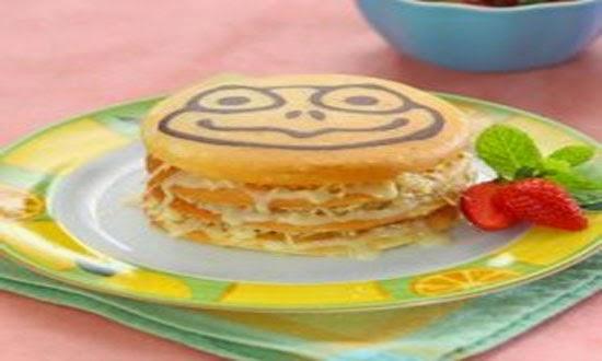 Gambar Resep Membuat Pancake Keju
