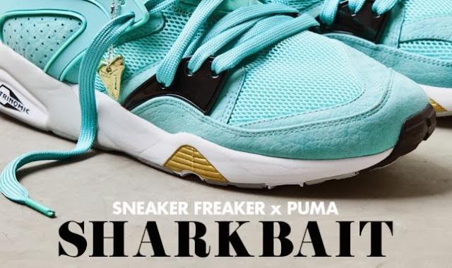 "Sneaker Freaker x Blaze Of Glory ""Sharkbait"""