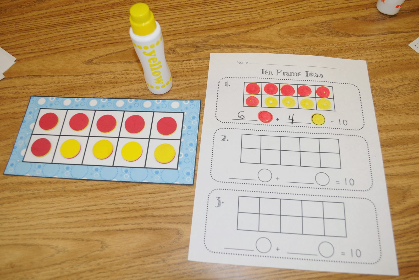 learn how to use ten frames to work on solving our math problems we will also be learning about the math symbols such as greater than and less than