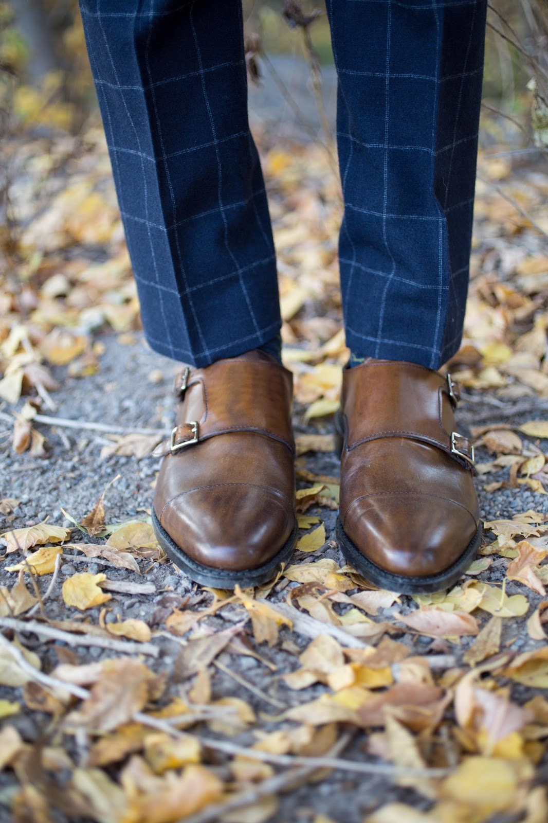 Allen Edmonds Double Monk Strap Shoes