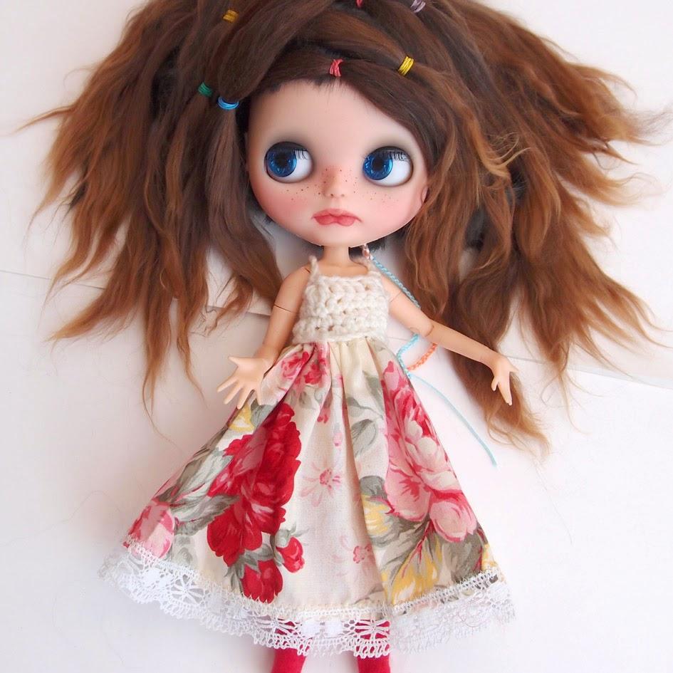 Waldorf Doll Wig 46