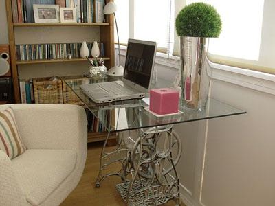 Neo arquitecturaymas recicla m quinas de coser para decorar for Reto sevilla muebles
