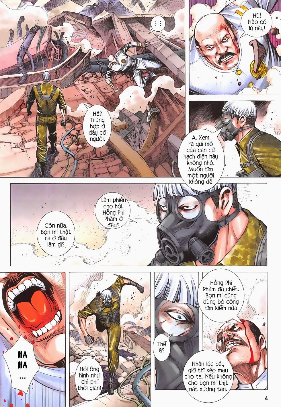 Đại Quân Phiệt chap 53 - Trang 4