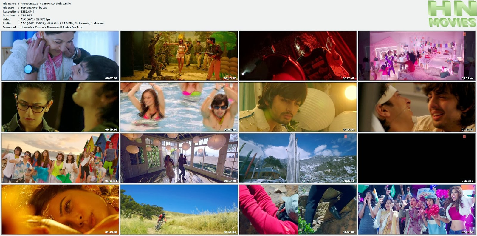 movie screenshot of Yaariyan fdmovie.com