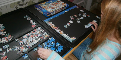 child christmas 200 piece jigsaw