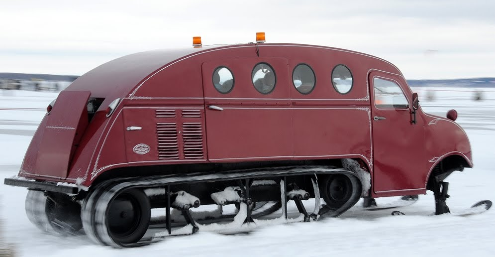 Just A Car Guy Bombardier B 12 Snowmobile