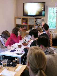 Teilnehmer -  Michele Beauchamp und Beate Winkler CZTs Workshop Organic 19.9.2015