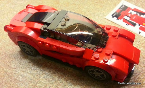 LEGO Speed Champions sets overview Ferrari LaFerrari