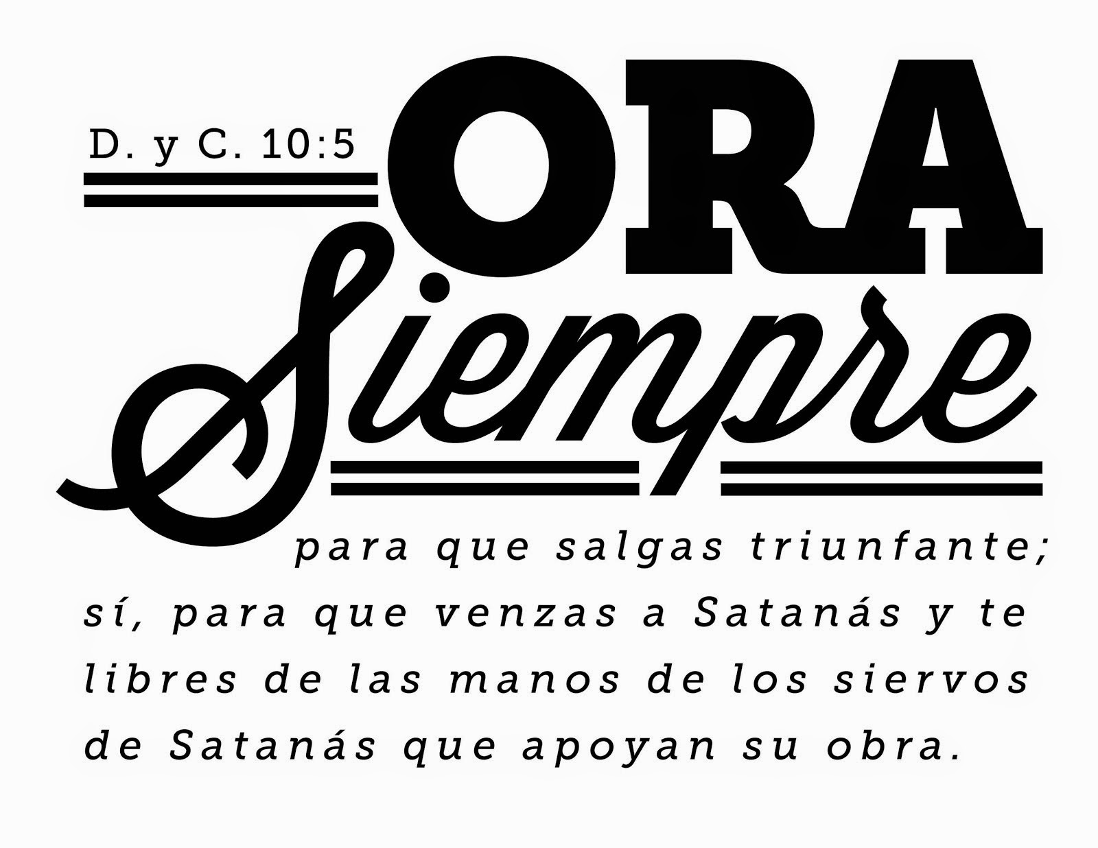 D. y C. Scripture Mastery in Spanish