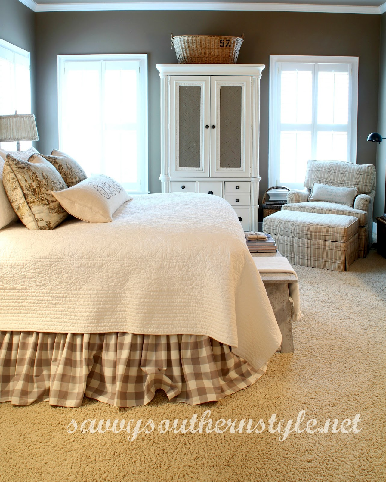 Master Bedroom: Savvy Southern Style : A Couple Of Changes In The Master