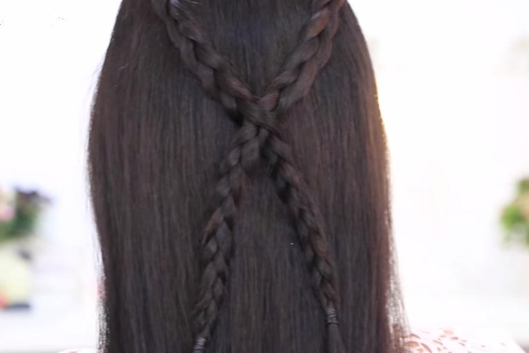 De romántica a rockera peinados con trenzas para pelo  - Fotos De Peinados Trenzados