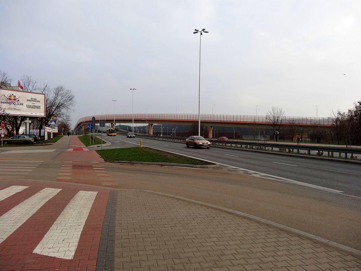 Ścieżka rowerowa przy Ostrobramskiej