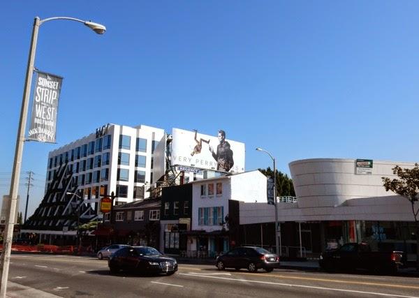 Very Perry Ellis Spring 2015 billboard Sunset Strip