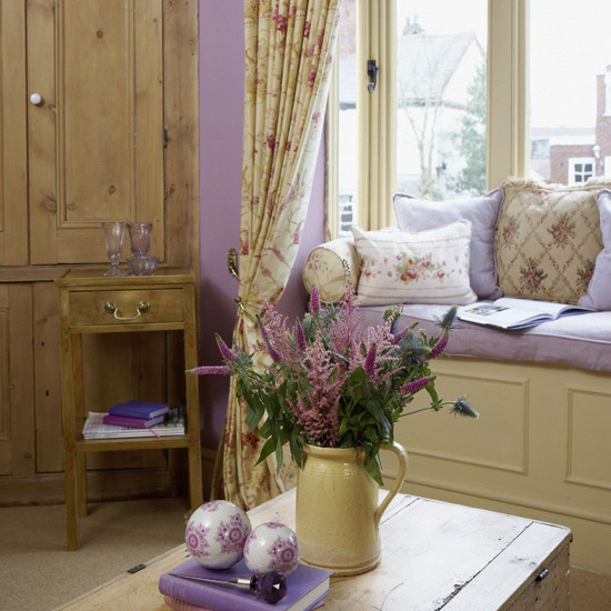 New home interior design collection of country living - Decoracion country chic ...